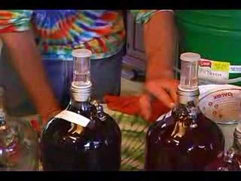 How to Make Homemade Fruit Wine : Watching & Topping Homemade Wine