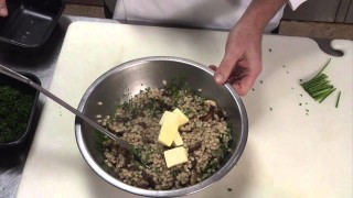 Wine Pairing for Farro Risotto prepared by Chef Mike