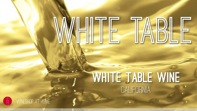 Wine Pick Of The Week: New Blend — White Table Wine