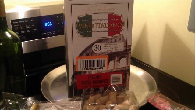 Vino Italiano Wine Kits from Amazon – Make your OWN wine Easily!! Tuscany Rosso Magnifico Wine.